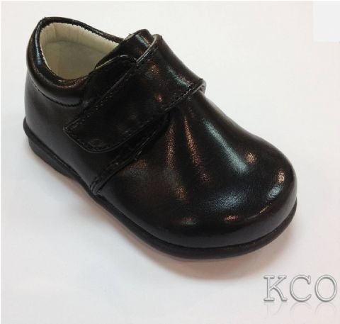 Style 171-10 Black~Boys Black Shoes